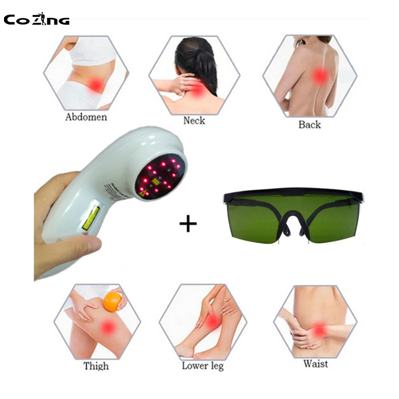 Купить с кэшбэком COZING Smart massager treat Arthritis Shoulder Knee pain relief medical Physical laser therapy laser machine/Christmas Gift