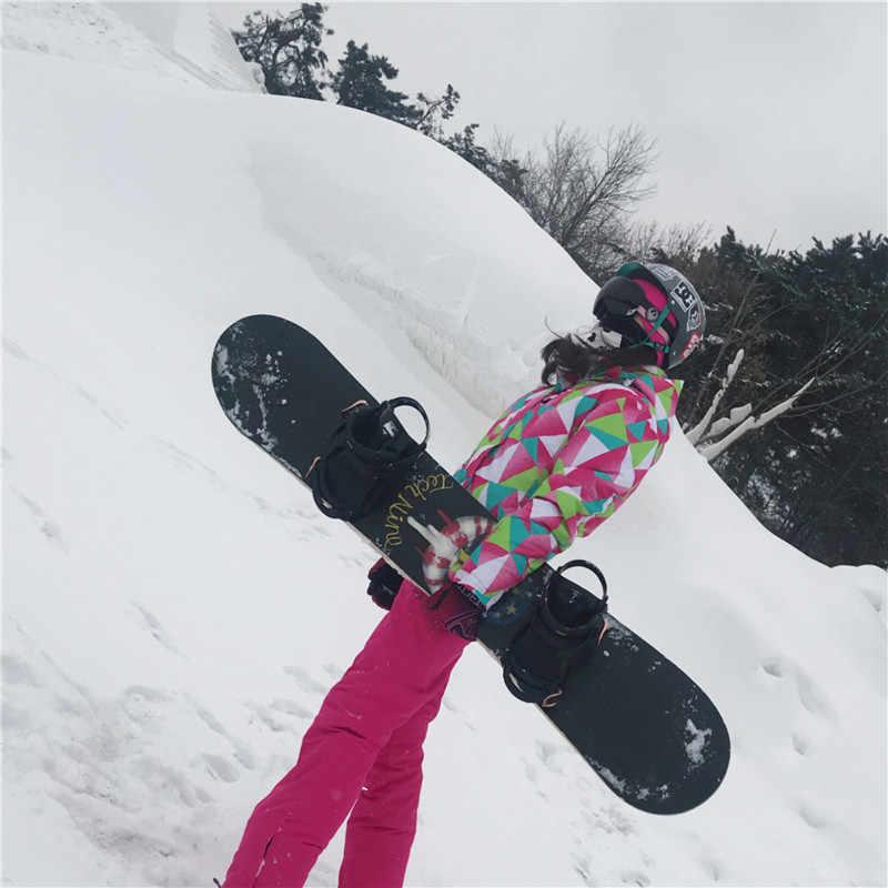 Trượt Tuyết Mùa Đông Phù Hợp Với Phụ Nữ Thương Hiệu Chất Lượng Cao Trượt Tuyết Áo Khoác Và Quần Lót Nữ Chống Thấm Nước Ấm Áp Chống Gió Trượt Tuyết Và Trượt Ván Trên Tuyết Phù Hợp Với