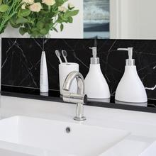 Marble Pattern Thicken Waterproof Non-slip Wall Floor Tile Stickers for Home Decoration Accessories Bathroom