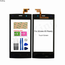 4'' Mobile Touch Screen For Allview A5 Ready Digitizer Panel Touch Screen Front Glass TouchScree Tools 3M Glue Wipes