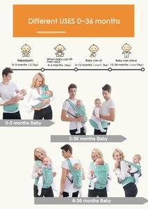 Image 4 - Tyry. hu ergonômico portador de bebê infantil hipseat portador de canguru saco para hipseat frente face suporte do bebê portador da cintura do bebê