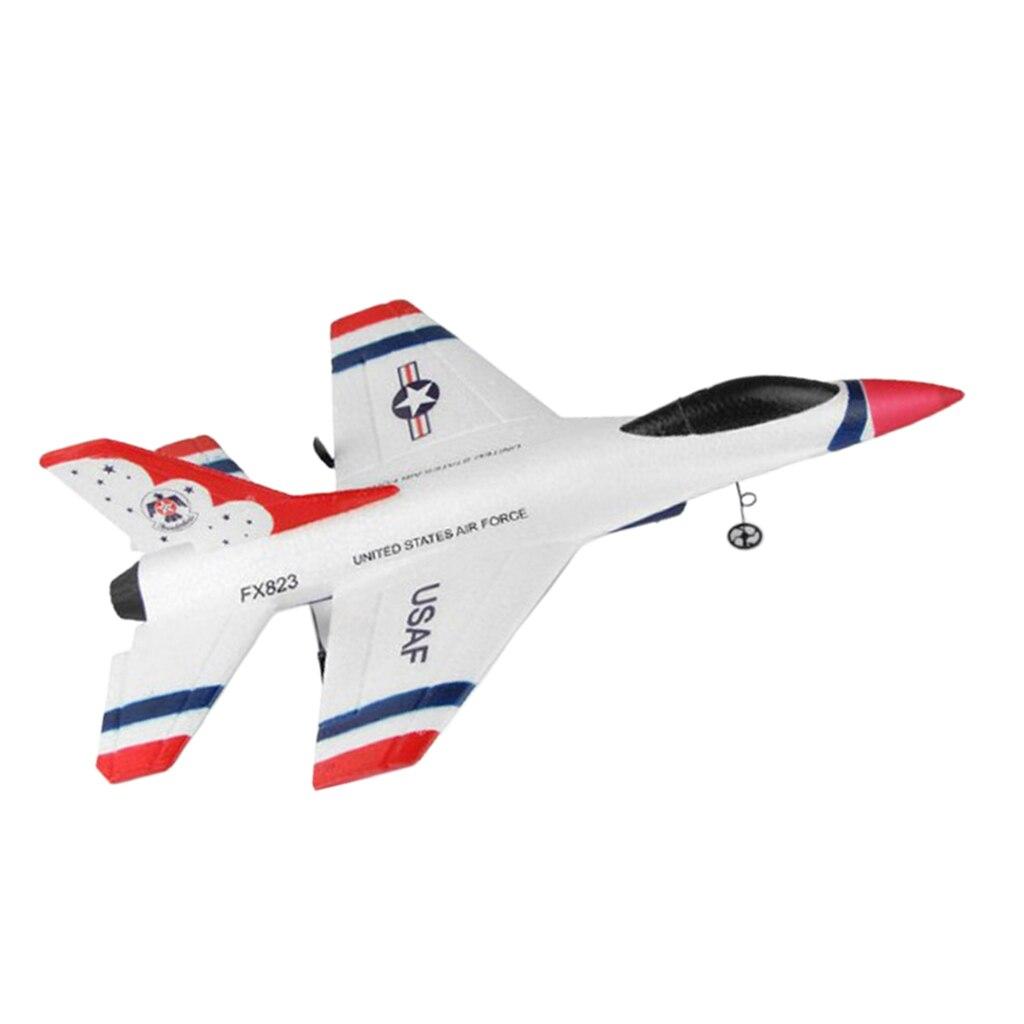 RC самолет 2,4 Ghz 2-х канальный пульт дистанционного управления Управление самолет США F-16 истребитель для детей