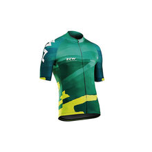 NW 2019 NORTHWAVE Summer Triathlon Men Cycling Jersey Short Sleeve Set Breathable Bib Shorts Cycling Clothes Quick Dry Maillot(China)