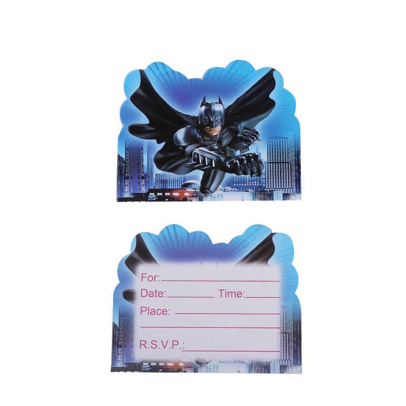 Decoración De Fiesta De Cumpleaños Batman Superman Iron Man