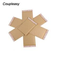 20pcs Printed Kraft Paper Bubble Envelopes Bags Mailers Padd