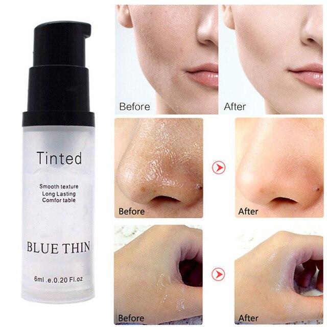 Face Eye Primer Makeup Smoothing Matte Base Make Up Oil Control Invisible Pores Facial Cream Brighten Liquid Foundation Primer 1