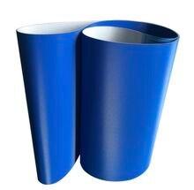 1500x300x3 мм синий ПВХ ромбовидная решетка конвейерная лента
