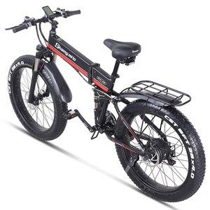 Image 2 - חשמלי אופני 1000W ebike 2019 חדש חשמלי אופני הרי olding חשמלי אופני אופני eletrica חשמלית אופני 48v