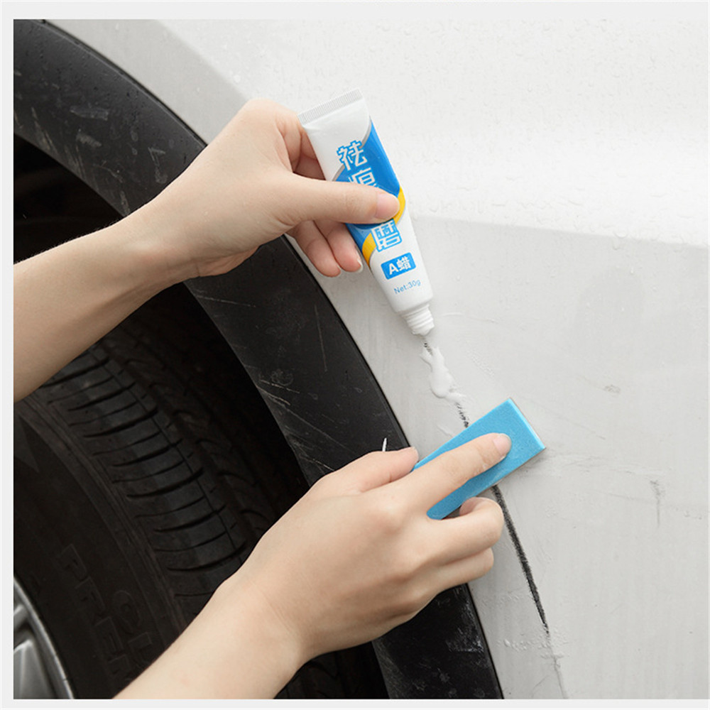Car Repair Car Body Compound Paste Set Scratch De-mark Abrasive Paint Care Auto Polishing Grinding Car Paste Polish Accessories