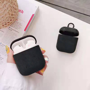 Image 5 - Luxury Leather Earphone Case For Apple AirPods 2 Headphones Airpods2 Cases Air pods 2 Pro Case Protective Cover Luxury