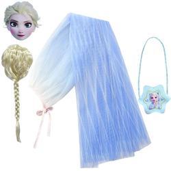 Накидка для косплея Disney «Холодное сердце», плащ Анны и Эльзы, игрушки, платье принцессы для девочки, костюм на Хэллоуин, детская одежда для в...
