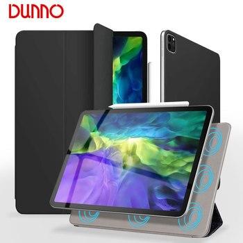 цена на For 2020 iPad Pro 11 2nd Gen Case New iPad Pro 2020 12.9 Cover Slim Magnetic 2018 iPad Pro 11 Case Auto Sleep/Wake Smart Case