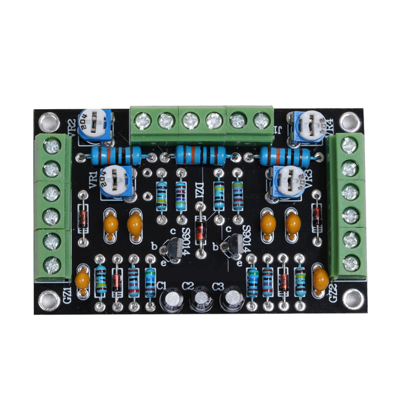 6E2 Cat Eye Tube Driver Board Kit Dual Channel Fluorescence Level Indication Driver Amplifier DIY Kit Modification