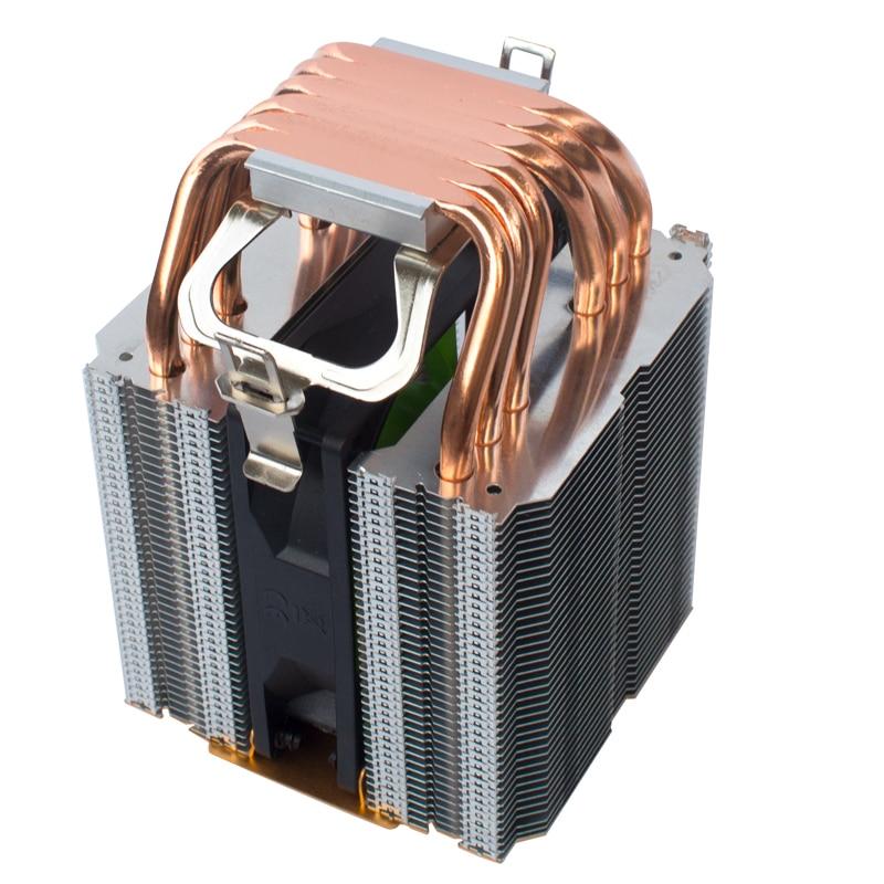coolangel 6 Heat Pipes CPU Cooler 4 Pin PWM RGB PC quiet Intel LGA 2011 775 1200 1150 1151 1155 AMD AM3 AM4 90mm CPU Cooling Fan 3