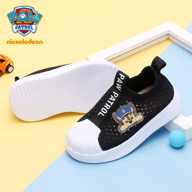 PAW PATROL Kids Shoes Girls Canvas Boys Sneaker Shoes Spring Children Comfortable Synthetic Sport Shoes For Kids Size 21-30