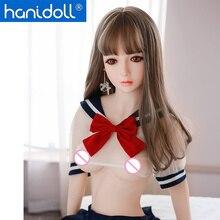 Hanidoll 148cm Silicone Sex Doll Love Metal Skeleton TPE Full Sized Realistic Vagina Anal Oral Breast Masturbator doll