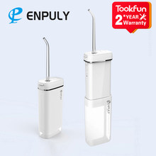 Nouveau TOOKFUN ENPULY Oral irrigateur eau Flosser Portable dentaire irrigateur bucal ultrasons pour nettoyeur de dents waterpulse dent