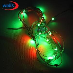 Image 3 - 50x Pre soldered WS2812B LED Heatsink 5V 5050 RGB WS2811 IC Built in & 10cm Wire