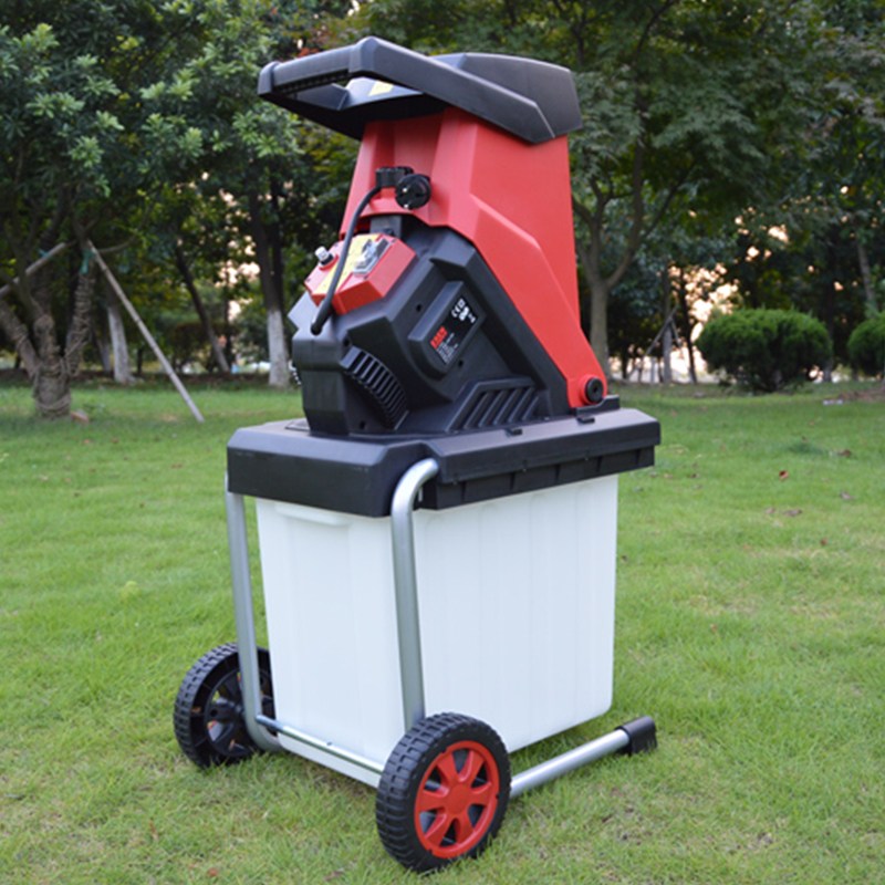 Electric Branch Shredder Garden Shredders High Power Tree Leaf Wood Branch Crusher Electric Pulverizer Garden Tool ES-S4002 image