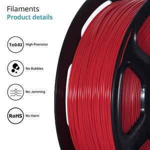 Image 2 - TOPZEAL di Alta Qualità PLA/ABS/PETG/TPU/Nylon 3D Stampante Filamento 1.75 millimetri Bobina e 10M * 10 Colori Del Campione per 3D Materiali di Stampa