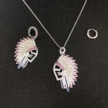 Mode Asymmetrische Retro Indische Chef Feder Halskette Kette Für Frauen Mädchen Schmuck Geschenk