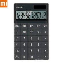 Youpin alta qualidade 12 display lcd calculadora de cálculo eletrônico dupla potência tablet botão para estudantes escritório