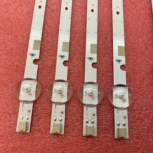 Image 3 - 5 ensemble = 40 pièces LED bande de rétro éclairage pour UN49J5200 UN49J5290 UN49J5290AG HG49NJ477 UN50J5200 49 FHD R L 180319 JEDI BN96 46573A 46572A