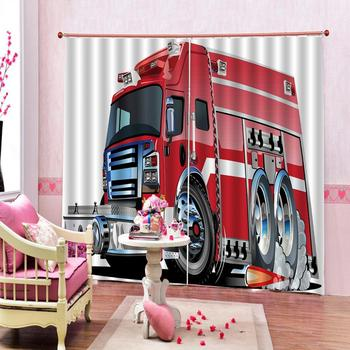 Drapes Cortinas Customized size Luxury Blackout 3D Window Curtains For Living Room big car curtains