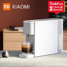 XIAOMI MIJIA S1301 Kaffee Maschine Kapsel Kaffee Makers espresso cafe Automatische power-off schutz 20BAR elektromagnetische pumpe