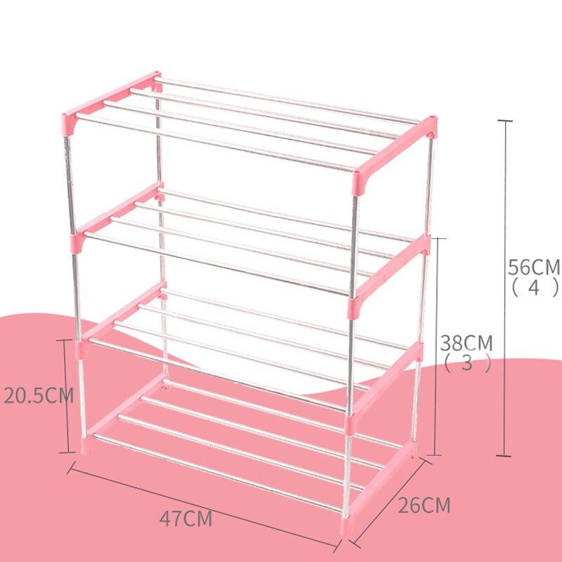 3/4 Tiers Non Woven Shoe Rack Hanger Home Hall Organizer DIY Storage Cabinet Shelf TB Sale|Shoe Racks & Organizers| |  - title=