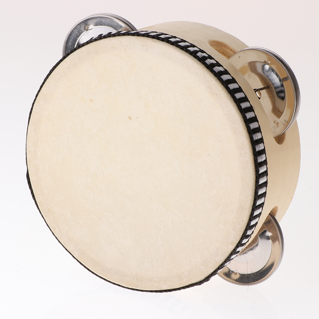 Musical Tambourine For Kids Party Favors Beat Instruments (4 Inch)