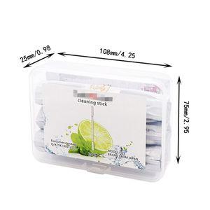 Image 4 - 30 قطعة/صندوق تنظيف عصا رأس مزدوج مسحات القطن ل IQOS 2.4 زائد أدوات نظيفة