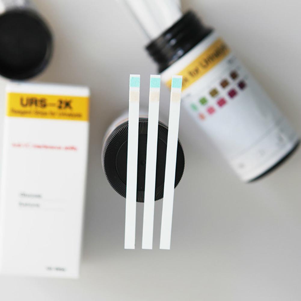 100pcs/set Ketone Strips Home Glucose Ketone Reagent Strip Diet Weight Lose Analysis Keto Strips Healthy Diet Body Tester