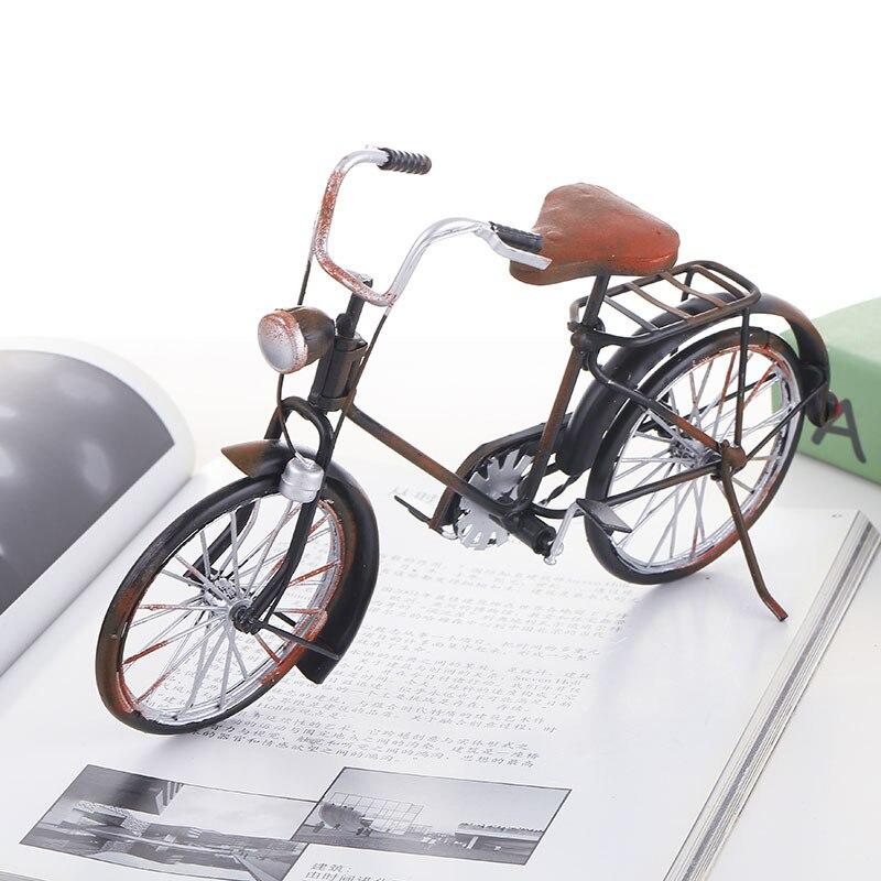 Grand modèle De vélo moulé sous pression Autos De Juguete Speelgoed Auto vélo modèle vacances cadeau Collection jouets pour enfants adultes