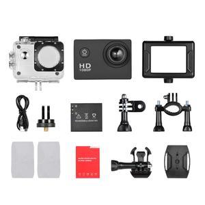 Image 5 - Mini Camera Action Camera 2inch LCD Sport Camera 1280x960P HD 1080P Digital Zoom Diving 30m 90 Angle Lens Sports Action Camera