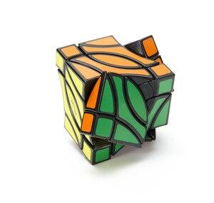 Image 2 - Lanlan Pitcher 4 Corner Black Cubo Magico Cube Educational Toy Gift Idea