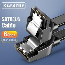 SAMZHE SATA Kabel 3,0 Festplatte Fahrer SSD Adapter 90 Grad Biegen SATA Kabel für Computer Verbindung