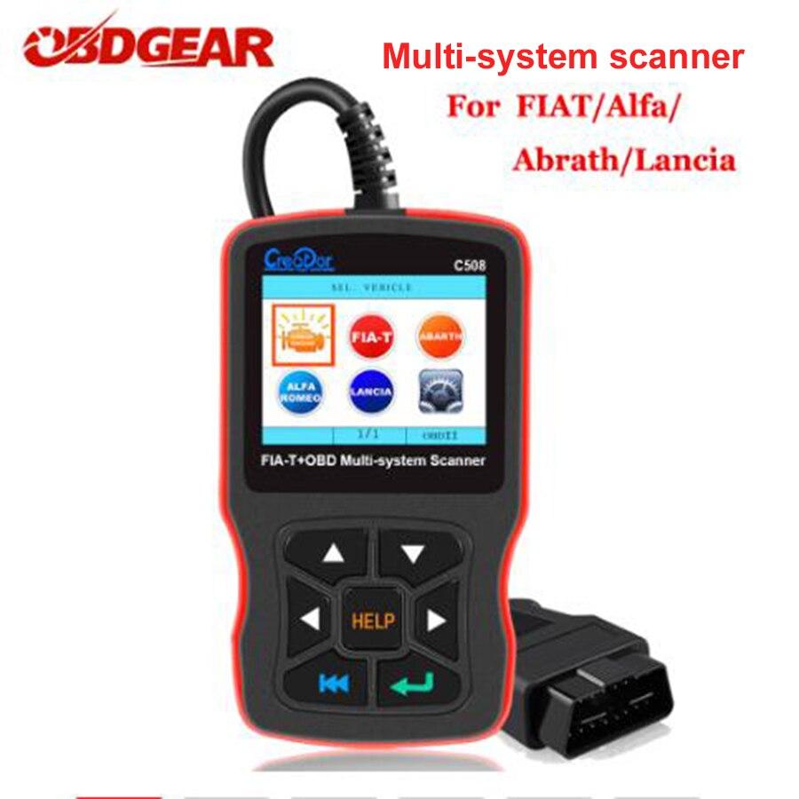 Fiat Punto VGATE Vs890 MAXISCAN OBD2 Diagnostic Fault Code Reader Scanner
