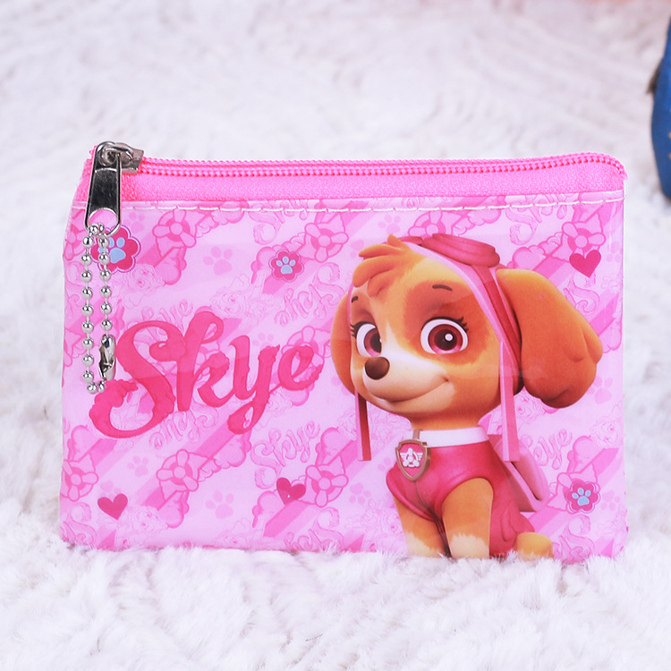 Paw Patrol Children's Coin Purse Kids Cute Cartoon Anime Pattern Coin Purse Storage Bag