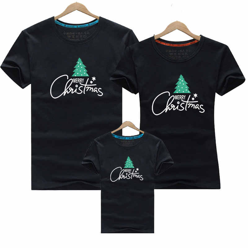 2020 natal família olhar camisa, roupas família papai noel cervos ano novo combinando roupas pai mãe filha mãe me criança criança