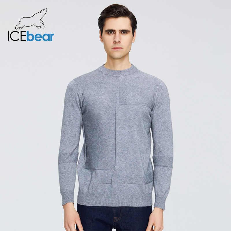 ICEbear 2020 봄 새로운 남성 스웨터 캐주얼 남성 풀오버 브랜드 남성 의류 1809