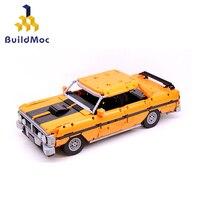 Buildmoc Forded Falcon Lepining Schepper Technic Lepinblocks Set Bouwstenen Auto Bakstenen Speelgoed Verjaardagscadeautjes