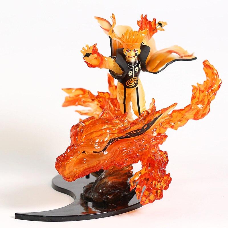 Animation Naruto Shippuden Kizuna Relation Kurama Mode Naruto Uzumaki Figure Model Toy Figurals