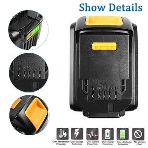 Image 4 - Bonacell 6000mAh 18V MAX XR for Dewalt Power Tool Battery for DCB180 DCB181 DCB182 DCB201 DCB201 2 DCB200 DCB200 2 DCB204 2 L50