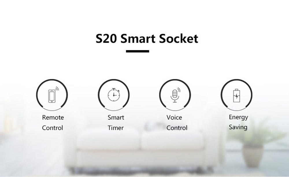 Sonoff s20 eu wifi smart socket power switch eu e/f plug app/vocie remote control socket outlet timing works with alexa