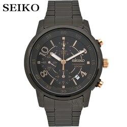 Reloj seiko para hombre, reloj de pulsera resistente al agua deportivo, reloj cronógrafo de cuarzo, relojes para hombre, reloj Masculino