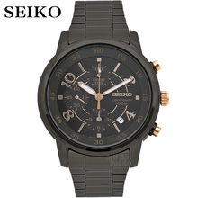 seiko watch men Luxury Brand Waterproof Sport Wrist Watch solar watch Chronograph quartz watches Mens Watches Relogio Masculino цена и фото