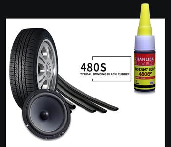 30ml 480S kleje uniwersalne kleje super klej s czarny super klej klej do naprawy opon samochodowych TSLM2 tanie i dobre opinie CN (pochodzenie) Z tworzywa sztucznego