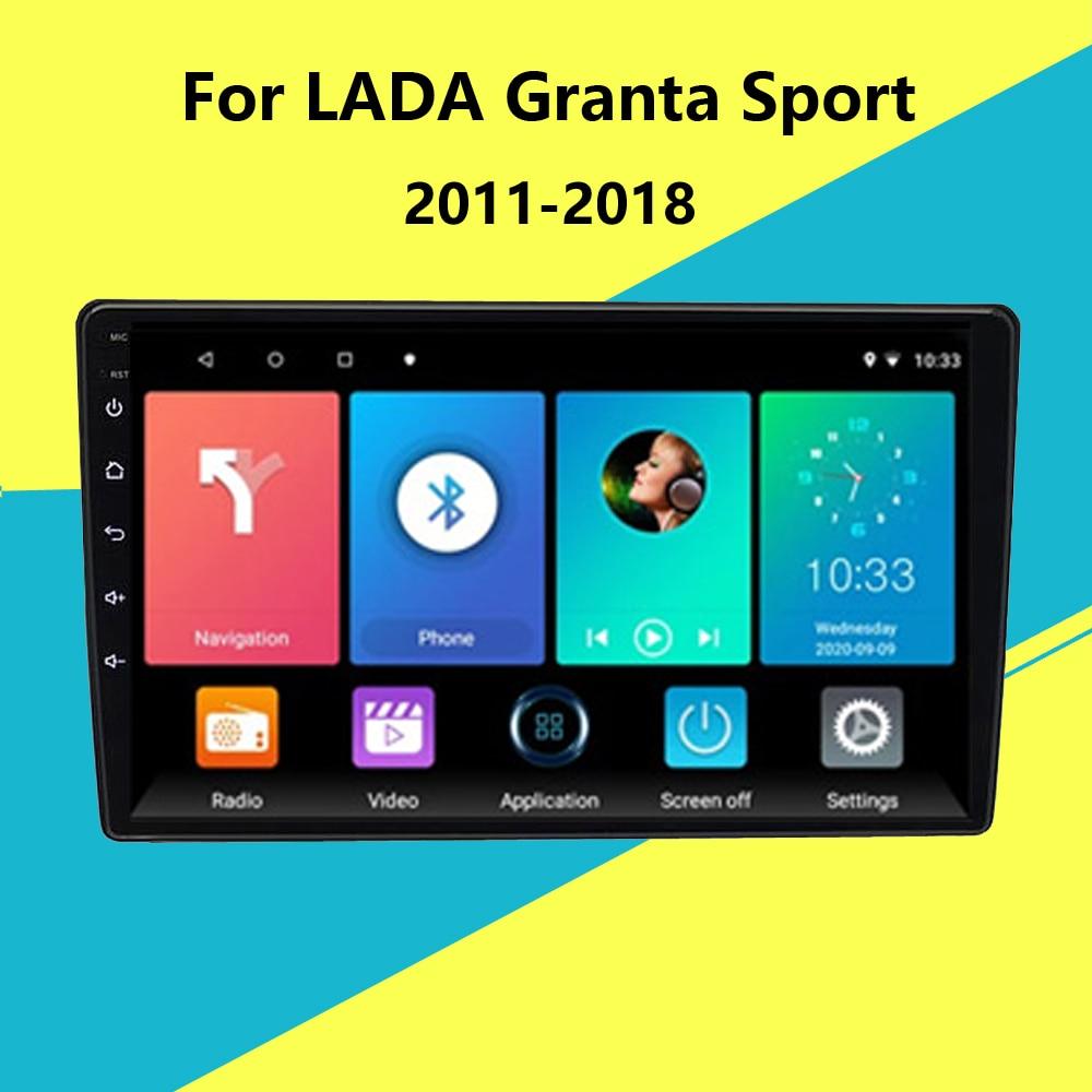 For LADA Granta Sport 2011-2018 2 Din Car Radio Multimedia Video Player 9