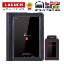 """LAUNCH X431 V Plus 10,"""" дюймовый Wifi/Bluetooth автоматический диагностический инструмент с 2 летним бесплатным обновлением X431 V+ Автомобильный сканер"""